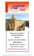 Visitekaartje - Carte De Visite - Bonton Land Megastore - Praha Praag Prague - Visitekaartjes