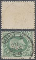 "émission 1869 - N°30 Obl Simple Cercle Ambulant ""Midi 6"" - 1869-1883 Leopold II"