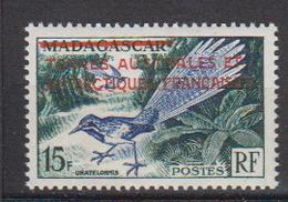 1955.TAAF -N°1** Timbre De MADAGASCAR SURCHARGE - Franse Zuidelijke En Antarctische Gebieden (TAAF)