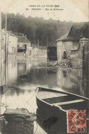 8103 CPA Melun - Rue De Gallardon - Crue De Seine 1910 - Melun