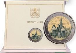 Vaticano, 2 Euro Fatima 2017 F.d.c. Vatikan State Mint Set. - Vatican