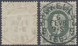 "émission 1869 - N°30 Obl Simple Cercle ""Bruxelles 9"". TB - 1869-1883 Leopoldo II"