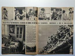 Rare Document Sur La Construction Du Pont De Tours-sur-Marne (1941) / Inauguration Par M. CHAUVET (Maire) - Livres, BD, Revues
