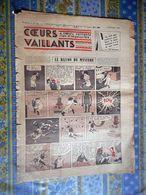 COEURS VAILLANTS 1936 N° 50 LE RAYON DU MYSTERE TINTIN ET MILOU EN EXTREME ORIENT - Tintin