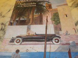 ANCIENNE PUBLICITE ILLUSTRATION TOURIME ET AUTOMOBILE 1933 - Voitures