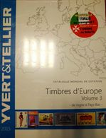 Catalogue YVERT & TELLIER EUROPE VOL.3 2015 - Enciclopedias