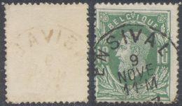 "émission 1869 - N°30 Obl Simple Cercle ""Ensival"" - 1869-1883 Leopold II"