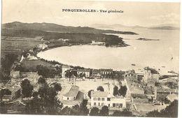 83 -  Iles De PORQUEROLLES - Vue Générale   239 - Porquerolles