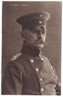 #12257 Militaria, WW1 German Old Postcard Unused: General Excellence Bruno Von Mudra In Uniform With Iron Cross - War 1914-18