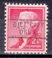 USA Precancel Vorausentwertung Preo, Locals Oklahoma, Dill City 729 - Vereinigte Staaten