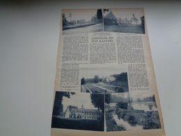 """Origineel Knipsel ( 1206 ) Uit Tijdschrift """" Zondagsvriend """"  1936 :    Leefdaal ( Bertem ) - Vieux Papiers"""