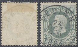 """émission 1869 - N°30 Obl Simple Cercle """"Gedinne"""". TB - 1869-1883 Leopold II"""