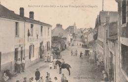 *** 44 ***  BEAUTOUR  La Rue Principale Et La Chapelle La Mairie  - écrite TTB - France