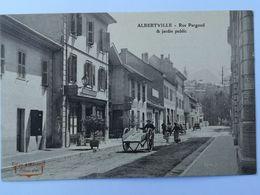 ALBERTVILLE Rue Pargoud Et Jardin Public - Albertville
