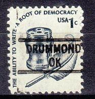 USA Precancel Vorausentwertung Preo, Locals Oklahoma, Drummord 841 - Vereinigte Staaten