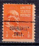 USA Precancel Vorausentwertung Preo, Locals Oklahoma, Drumright 704 - Vereinigte Staaten