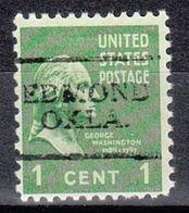 USA Precancel Vorausentwertung Preo, Locals Oklahoma, Edmond 701 - Vereinigte Staaten