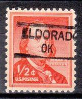 USA Precancel Vorausentwertung Preo, Locals Oklahoma, Eldorado 835.5 - Vereinigte Staaten