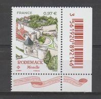 "FRANCE / 2020 / Y&T N° 5407 ? ** : ""Touristique"" (Rodemack - Moselle) X 1 CdF Inf D Avec Code-barres - Frankreich"