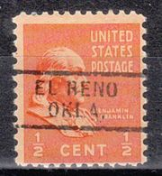 USA Precancel Vorausentwertung Preo, Locals Oklahoma, El Reno 729 - Vereinigte Staaten