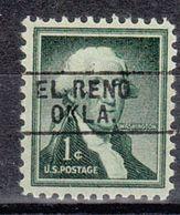 USA Precancel Vorausentwertung Preo, Locals Oklahoma, El Reno 745 - Vereinigte Staaten