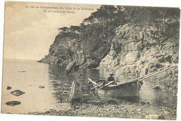 83 -  Ile De PORQUEROLLES -  Un Coin De La Calanque De (l'oustaou De Diou)   242 - Porquerolles