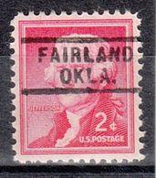 USA Precancel Vorausentwertung Preo, Locals Oklahoma, Fairland 729 - Vereinigte Staaten