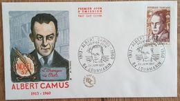 FDC 1967 - YT N°1514 - ALBERT CAMUS - LOURMARIN - FDC
