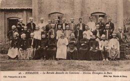 CPA    BIRMANIE---LA RETRAITE ANNUELLE DES CATECHISTES - Myanmar (Burma)