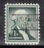 USA Precancel Vorausentwertung Preo, Locals Oklahoma, Fairview 819 - Vereinigte Staaten