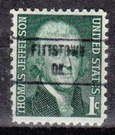 USA Precancel Vorausentwertung Preo, Locals Oklahoma, Fittstown 853 - Vereinigte Staaten