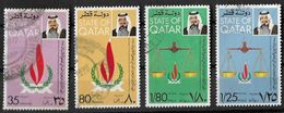 Qatar 1978 30th Anniversary Of Declaration Of Human Rights.Complete Set Used - Qatar