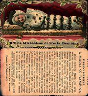 16501a)  Effige Miracolosa Di Maria Bambina - Virgen Mary & Madonnas