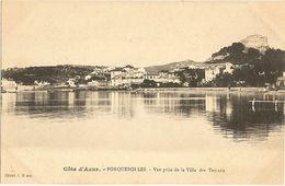 83 -  PORQUEROLLES -  Vue Prise De La Villa Des TAMARIS   246 - Porquerolles