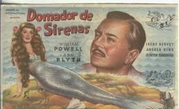 Programas De Cine: Domador De Sirenas - Otros