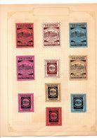 LOT DE VIGNETTES PATRIOTIQUES 14/18 - Commemorative Labels
