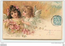 N°7997 - Carte Fantaisie - Anges - Angeles