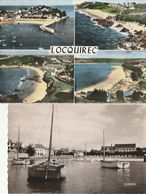 "LOCQUIREC - Lot De 3 CPSM : Multivues - Le Port - Hôtel "" Le Bel Air "" - Locquirec"