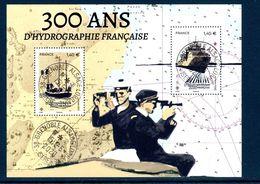 France 2020. Bloc 300 Ans D'hydrographie Française.cachet Rond Gomme D'origine - Bloques Souvenir