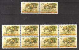 8999- Tanzania, Tansania, Lot Of 10 Issues 1985 Michel 168C Perf. 14X14 ¼ ** MNH – High Catalogue Value –giraffe,animals - Tanzania (1964-...)