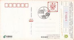 China 2020 Jiangsu Yangzhou Fight Epidemic(Covid-19)  Postal Card D - 1949 - ... Repubblica Popolare