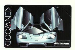 Italia - Tessera Telefonica Da 2.000 Lire N. 187 - Kenwood - McLaren - Italia