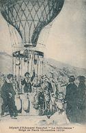 """CPA  Guerre De 1870-71 : Départ D'Edouard Gauchet """"la Délivrance"""" - Siège De Paris. Décembre 1870. - Marcophilie (Lettres)"""