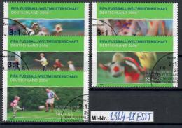 Bundesrepublik Mi-Nr.: 2324-28 Sporthilfe 2003 Sauberer Satz Mit Ersttagsonderstempel - Gebraucht