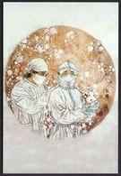 "China Wearing Mask To Prevent COVID-19 PostCard(9-9) ""masked Medical Staff"".Back--COVID Pmk - Malattie"