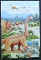 Carte Maximm - Dinosaure, Saltasaurus, Animal Pàréhistorique, Corée Du Nord (dinosaurs, Saltasaurus - DPR Korea) - Prehistorics
