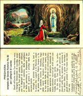16522a)     Madonna Di Lourds - Virgen Mary & Madonnas