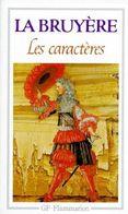 LA BRUYERE  °°°°   LES CARACTERES PRECEDES DES CARACTERE DE THEOPHRASE - Books, Magazines, Comics