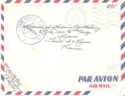 POSTE AUX ARMEES * * * Flamme Ondulée De S.P.86863 - Guerra De Argelia