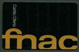 CARTE CADEAU FNAC >> Couleur NOIRE -TRES BON ETAT - REF.4x0-FNAC-702F - Cartes Cadeaux